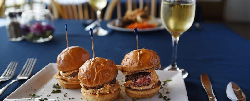 pork sliders Lakeshore Restaurant Anderson Island